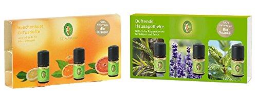 Primavera - Geschenkset Zitrusdüfte und Duftende Hausapotheke im Set (2 x 15 ml)