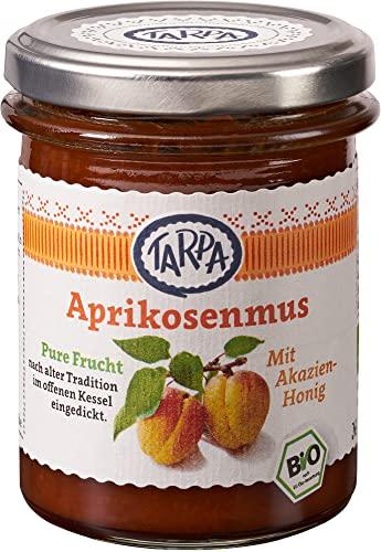 Tarpa Bio Aprikosenmus 90{5a409a38d4c853b2e57874d0c16845491241ac437e2888f5c3928040c3f5c106} (1 x 210 gr)