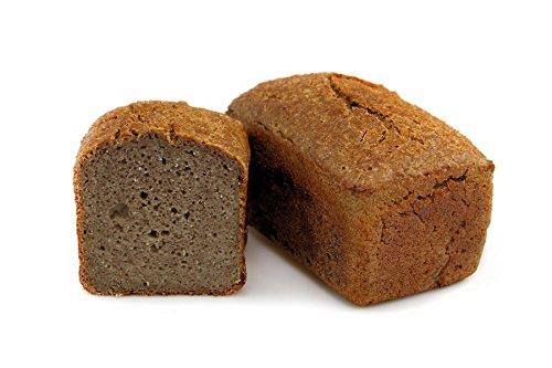 Bio Buchweizenkeimbrot 6x 500 g vegan hefefrei aus glutenfreien Rohstoffen