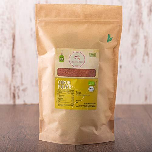 süssundclever.de® Bio Carobpulver   1 kg   Premium Qualität   100{affd2efd6ea9b4b54b34b3a0f415f573f44acc4d4f9f4e33e9c4267d98da6d4d} reines Naturprodukt   plastikfrei und ökologisch-nachhaltig abgepackt