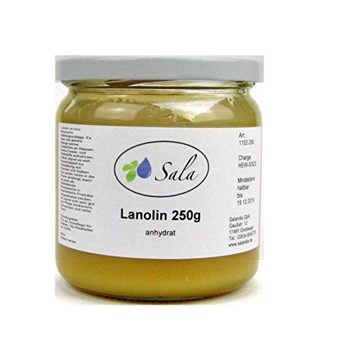 Sala Lanolin anhydrat pestizidfrei 250 g Glas