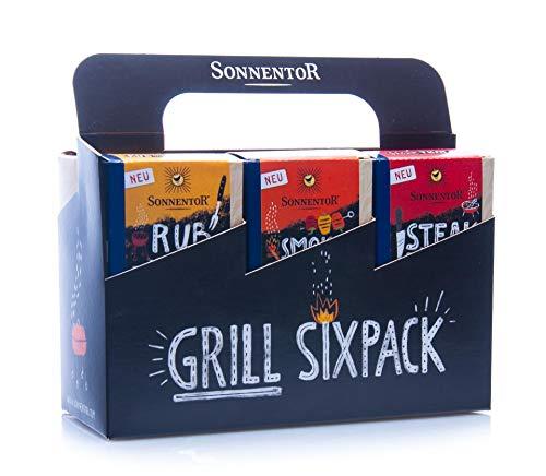 Sonnentor Bio Grillgewürze Sixpack bio (1 x 415 gr)