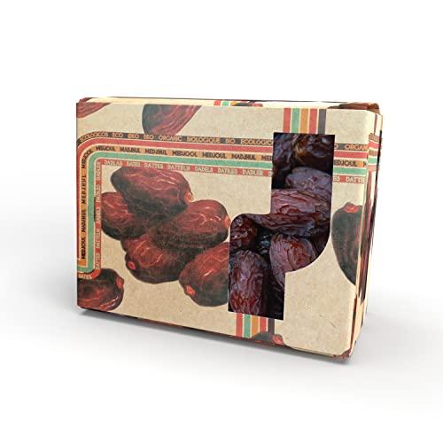 1kg getrocknete Bio Datteln Medjool mit Stein - Medjoul Datteln unbehandelt und ohne Zuckerzusatz aus kontrolliert biologischem Anbau