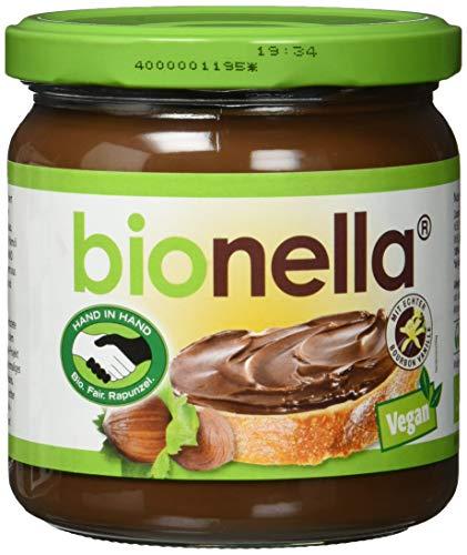 Rapunzel bionella Nuss-Nougat-Creme vegan HIH, 6er Pack (6 x 400 g)