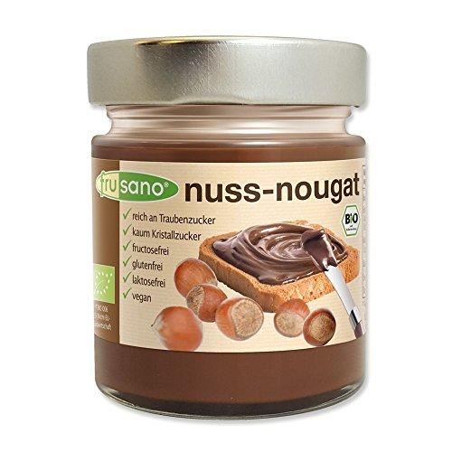 Frusano Bio Nuss-Nougat-Creme vegan, 2er Pack (2 x 180 g)