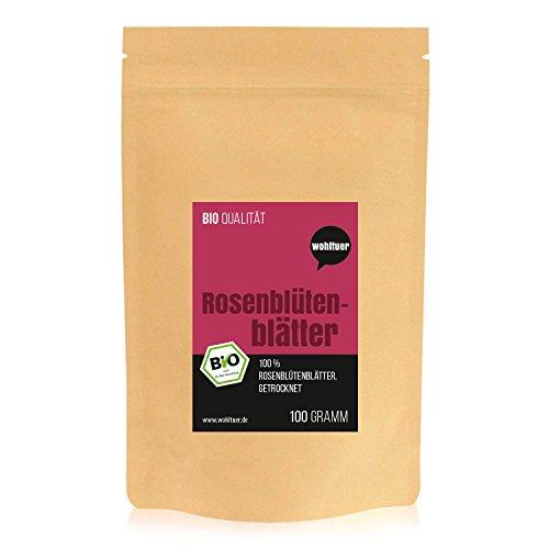 Wohltuer Bio Rosenblütenblätter Tee, 100 g