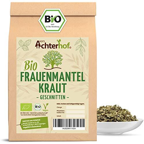 Frauenmanteltee Bio (100g) Frauenmantel-Kraut Tee   Schadstoffkontrolliert   aus kontrolliert biologischen Anbau   vom Achterhof