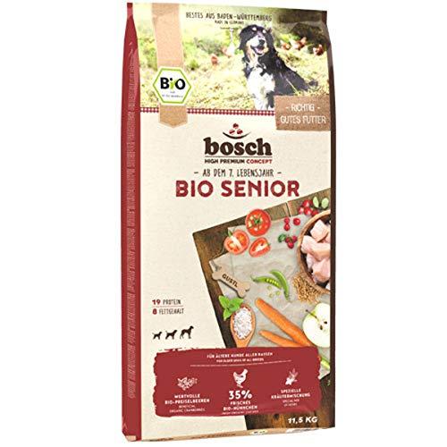 biosch Bio Senior Hühnchen und  Preiselbeere, 1er Pack, 1 x 11.5 kg
