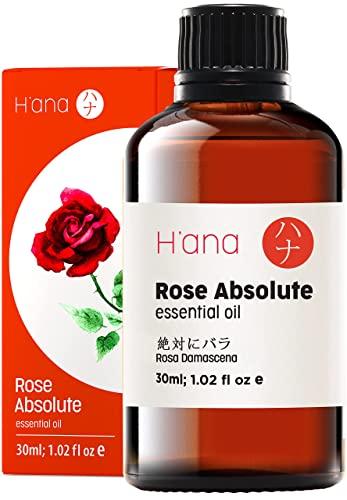 Ätherisches Rosen Öl (30ml) - 100{01c20cf1a1d5aaaaba29a0cf262decea28d38e688ec462dd9ccc2d88792feff9} rein und zur therapeutischen Anwendung, zur Behandlung von Haut und Haaren,und für den Aroma Diffusor