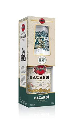 Bacardi 4 Añejo Cuatro Gold Rum (1 x 0.7 l)