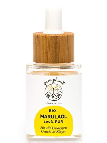green planet cosmetics Bio Marulaöl-Naturkosmetik-Gesichtsöl-Körperöl-100{63efca619f88214b2c0ae521ca6198ee5dd3623b91bd00c4b4387cf131a7910c} rein- Vegan-30ml