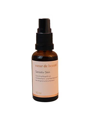 coeur de beauté - Bio Gesichtspflegeöl mit Himbeeröl, Traubenkernöl und Nachtkerzenöl