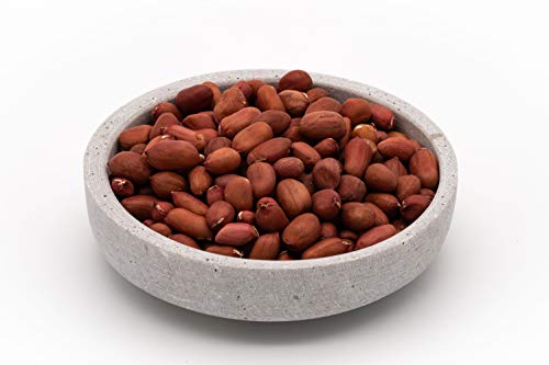 Bio Erdnüsse Erdnusskerne red skin Fairtrade 1 kg Rohkost ungeröstet ungesalzen roh mit roter Haut 1000g
