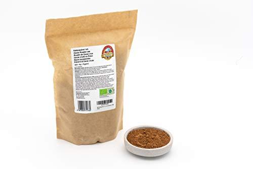 Bio Kakaopulver 1 kg rohes Criollo Kakao Pulver roh Rohkost 1000g