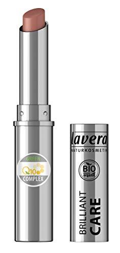 lavera Beautiful Lips Brilliant Care Lippenstift Q10 -Light Hazel 08- Lipstick ∙ Intensive Pflege ✔ Naturkosmetik ✔ Natural Make-up ✔ Bio Pflanzenwirkstoffe ✔ 100{a99cdbd4dc9fb03a5902b13c6ca4fc1ff0d10cc4c979e8c8c149efae2b3368df} natürlich 3er Pack (3x 1.7 g)