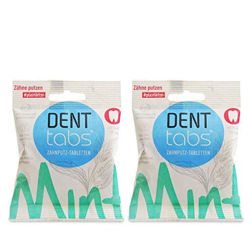 Denttabs 2 x 125 Stck. mit Fluorid - Zahnputztabletten