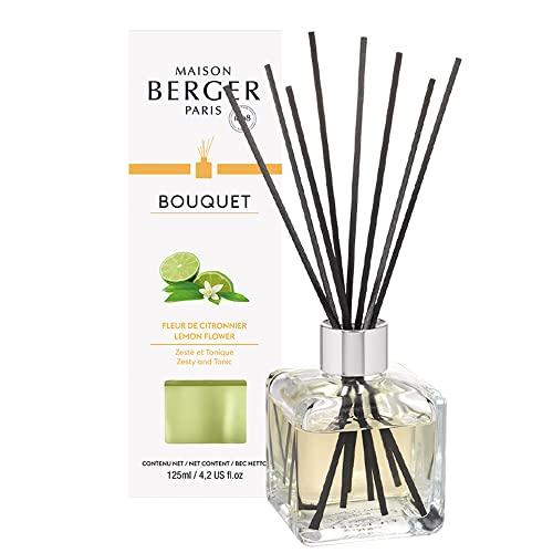 LAMPE BERGER Bouquet Parfumé Cube Fleur de Citronnier 125ml