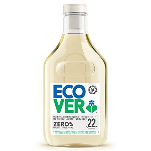 Ecover Woll-und Feinwaschmittel Zero Bei Handwäsche in kaltes oder warmes Wasser geben, 22 Waschladungen