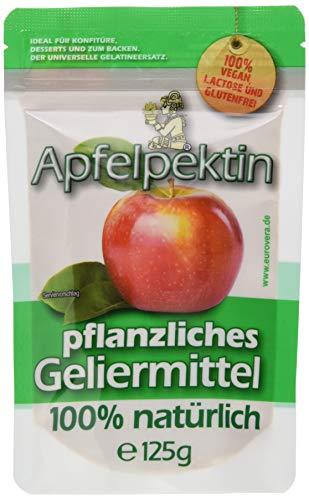 EUROVERA Apfelpektin - Vegane Alternative zur Gelatine, 125 g