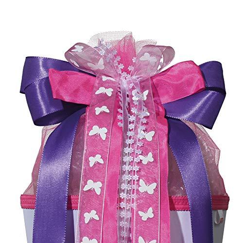ROTH Schultütenschleife Purple Rain lila pink für Mädchen