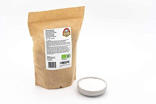 Bio Pfeilwurzelmehl 1 kg Premiumqualität, verdickende Pfeilwurzelstärke Pfeilwurzel Bindemittel Arrow Root Arrowroot 1000g