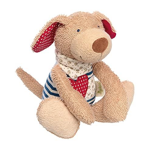 sigikid, Mädchen und Jungen, Spielfigur, Hund Green, Blau, 39053