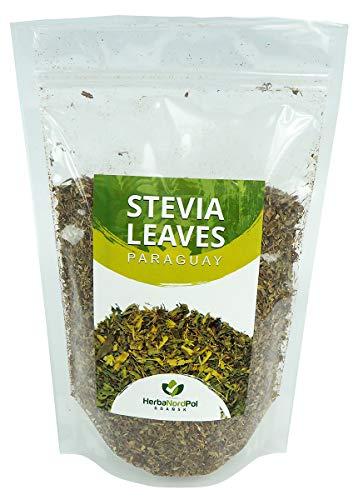 HerbaNordPol Steviablätter getrocknet aus Paraguay Loser Tee, Stevia | 2-3cm sorgfältig verarbeitet | 400G