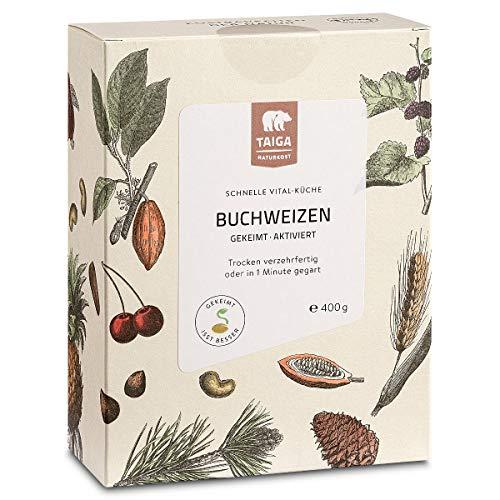 Taiga Naturkost - Bio Buchweizen gekeimt - 400 g