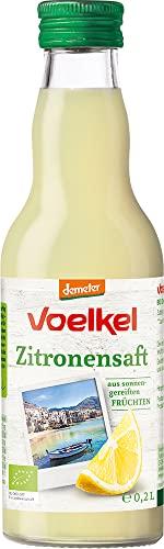 Voelkel Bio Zitronensaft - 100{124173671fdaeac17194b74fed04ee2fa5887e19d35fdc39ba786ed5b4b7f455} Direktsaft (6 x 200 ml)