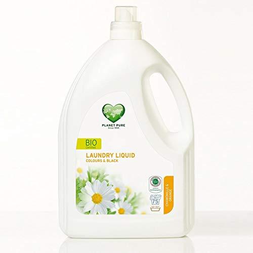 Bio Waschmittel Schwarz/Bunt Kamille/Orange Ohne Tierversuche