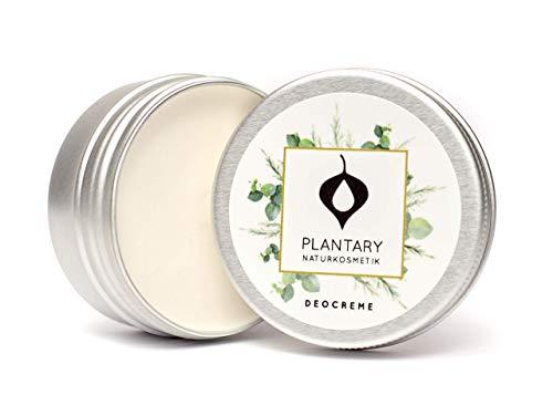 """Plantary Deo Creme ohne Aluminium 30ml vegan bio, Unisex-Duft für Damen und Herren, Deocreme für die Familie, Bio Naturkosmetik mit der Zaubernuss, DERMA TEST\""""SEHR GUT\"""""""