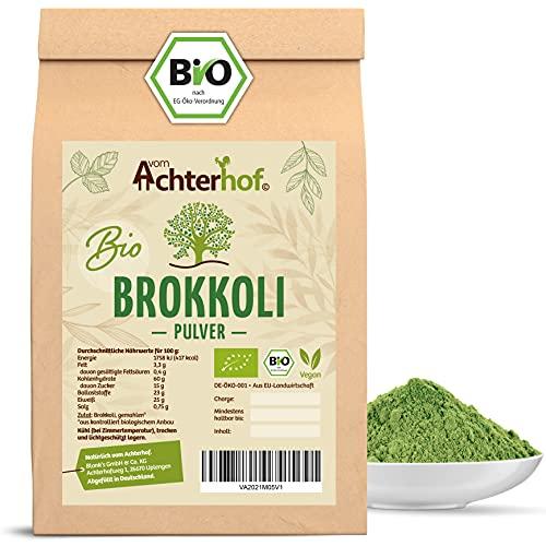 Brokkoli Pulver BIO (500g) aus deutschem Anbau schonend vermahlen vom-Achterhof