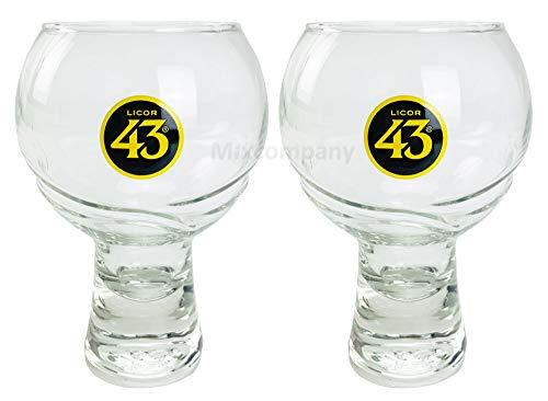 Licor 43 Cuarenta y TRE Glas Gläser-Set - 2X Gläser bar Cocktail Glas