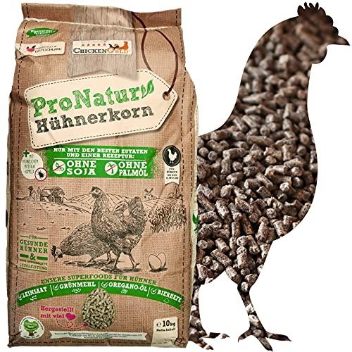 WachtelGold Bio-Hühnerkorn 10kg - Hühnerfutter Pellets - Bio Legekorn Biofutter