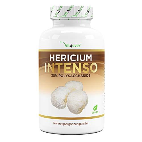 Vit4ever® Hericium Erinaceus Intenso Pilz - 1300 mg pro Tagesportion - 120 Kapseln - Hochdosiert mit 30{45037e56452b2527ebc96550d4022a70cacc78ff557e1faacf6db1bd0b1d8e98} Polysaccharide - Laborgeprüfte Qualität - Igelstachelbart Pilz Extrakt - Vegan