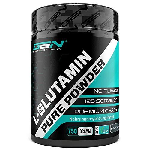 L-Glutamin Pulver - 500 g - Ultra hohe Reinheit ohne Zusätze - Laborgeprüft -100{81656e3d091764d0b87fe5af90c7aa31ddce9ab2b406ea85f1fda1fa744ab40a} micronized L-Glutamine Aminosäure - Unlflavoured Neutral - German Elite Nutrition