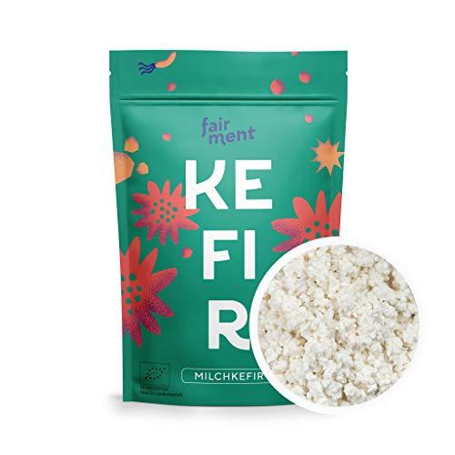 Fairment Starterkultur Kefir - Milchkefir einfach selber machen - Bio Kultur Kefir Knollen mit Anleitung - bekannt aus der Höhle der Löwen